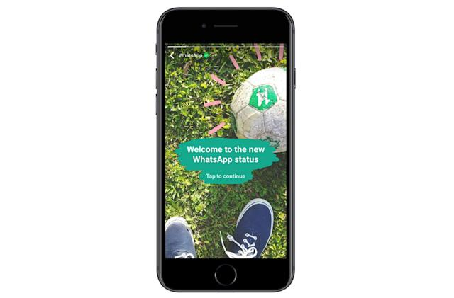 WhatsApp status updates now look a lot like Snapchat
