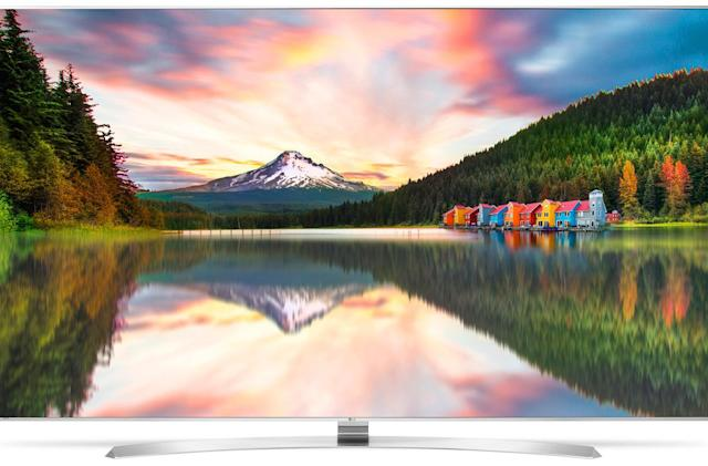 LG's 2016 TVs include its first production 8K set