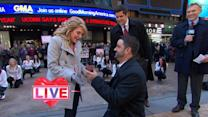 Man Proposes 'Flash Wedding' to Girlfriend Live on 'GMA'