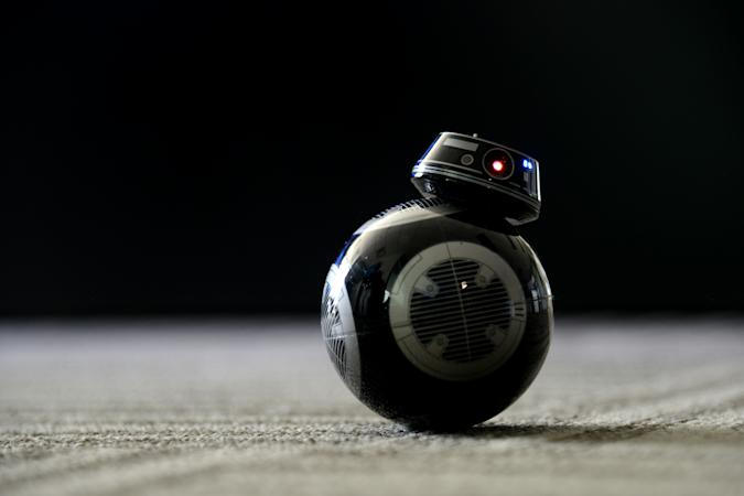 BOULDER, CO -  DECEMBER 1 : A StarWars' BB9E connected toy robot created by Sphere. Photographed at the Sphero campus in Boulder, Colorado on December 1, 2017. Sphero specializes in connected robotic toys. (Photo by Amy Brothers/ The Denver Post)
