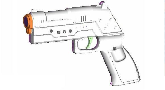 Penguin United's new Wii gun doesn't need a Wiimote
