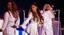 Ariana Grande Trips, Tears Up In Delightful 'Thank U, Next' Performance