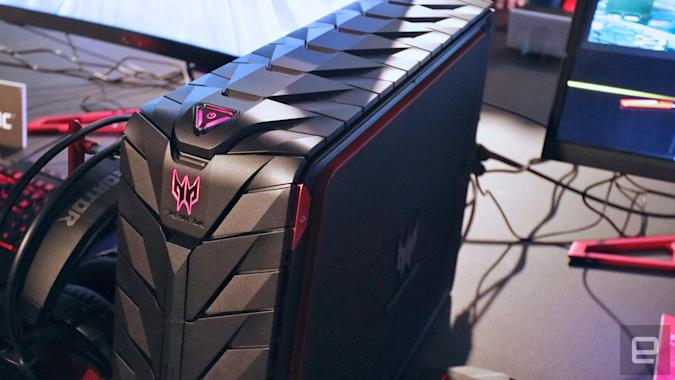 Acer reveals new Predator gaming desktop, notebook and display