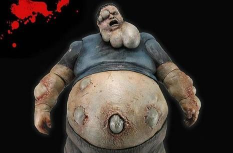 Left 4 Dead's Boomer action figure is pretty gnarly
