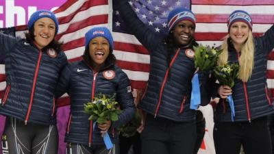 USA Bobsledders Talk About Silver, Bronze Wins