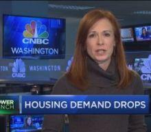Housing demand drops despite falling mortgage rates