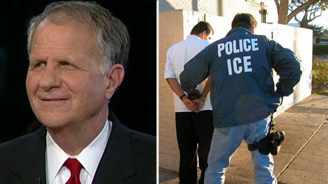 How could ICE act on its own in release of illegals?