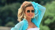 Ana Paula Siebert exibe gravidez e brinca: 'Barriga positiva'