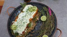 Receita: Terrine de lentilha, abóbora e agrião