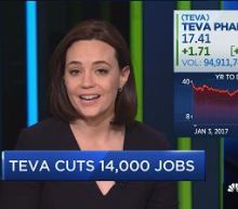 Teva cuts 14,000 jobs
