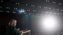 Green Leader Elizabeth May promises electoral reform, lowering voting age to 16