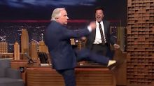 Henry Winkler Busts Out Strenuous Fonzie Dance On 'Tonight Show'