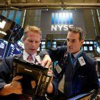 Dow, S&P climb on energy and industrials; Nasdaq falls