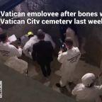 Vatican begins examination of bones found in cemetery