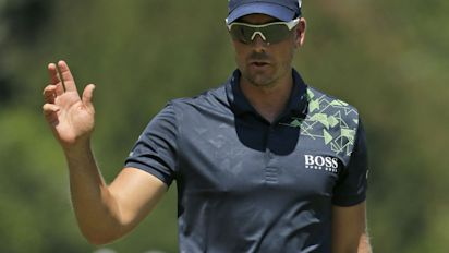 Stenson's 64 closes out victory at Wyndham