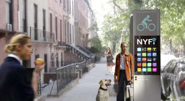 New York City looks to blanket the five boroughs with free WiFi thanks to next-gen payphones