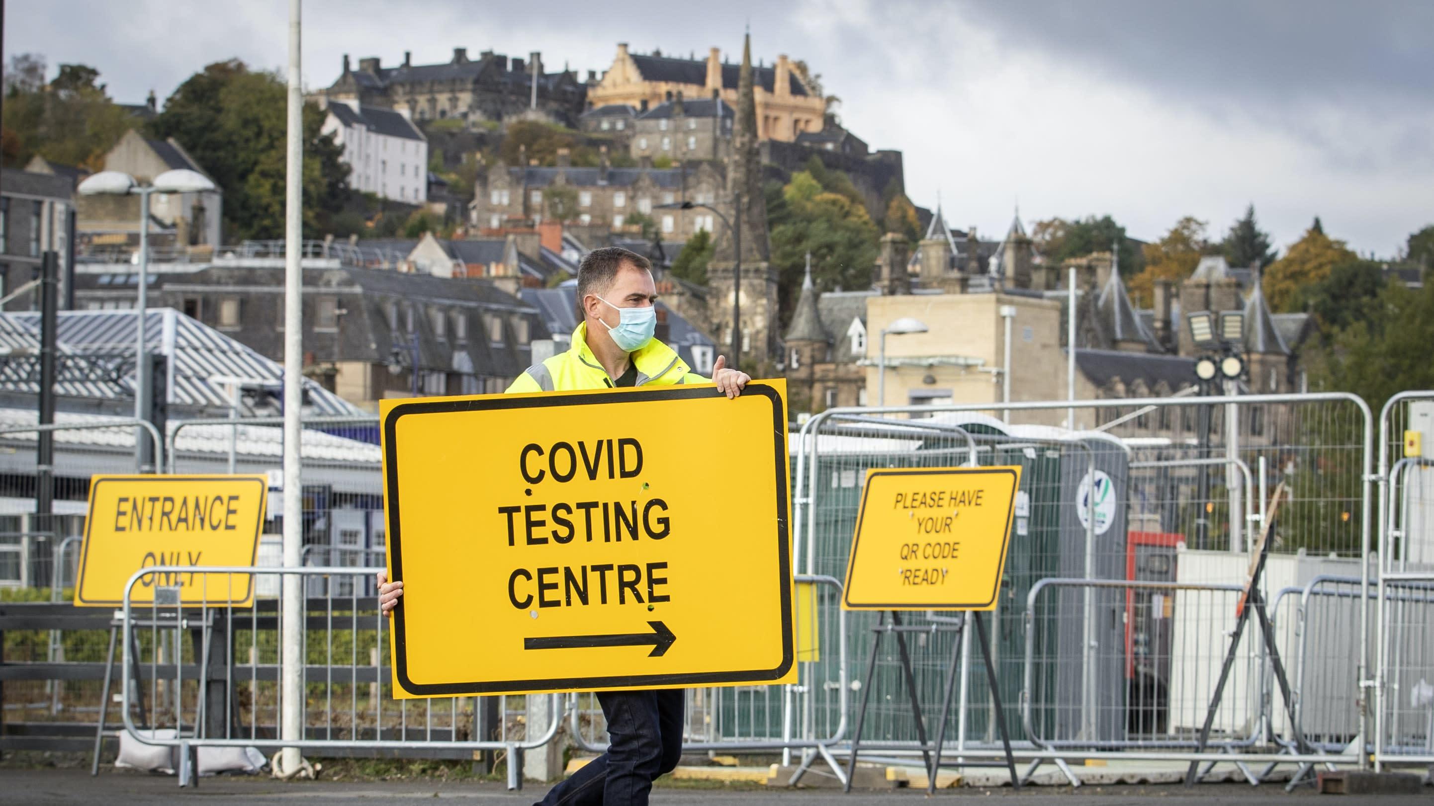 Half of UK coronavirus cases not being identified, expert claims