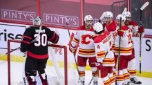 Calgary Flames beat Ottawa 6-3 to end Senators' three-game win streak