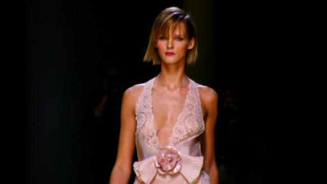 Throwback Thursdays with Tim Blanks - Valentino's Grand Beauty