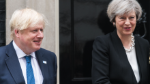 Boris Johnson and Theresa May clobbered over Irish border at PMQs