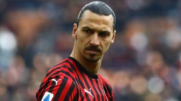 Ibrahimovic injured in Milan training session