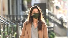 Katie Holmes Wore an Unexpected Shoe Trend That Became Popular Because of the Pandemic
