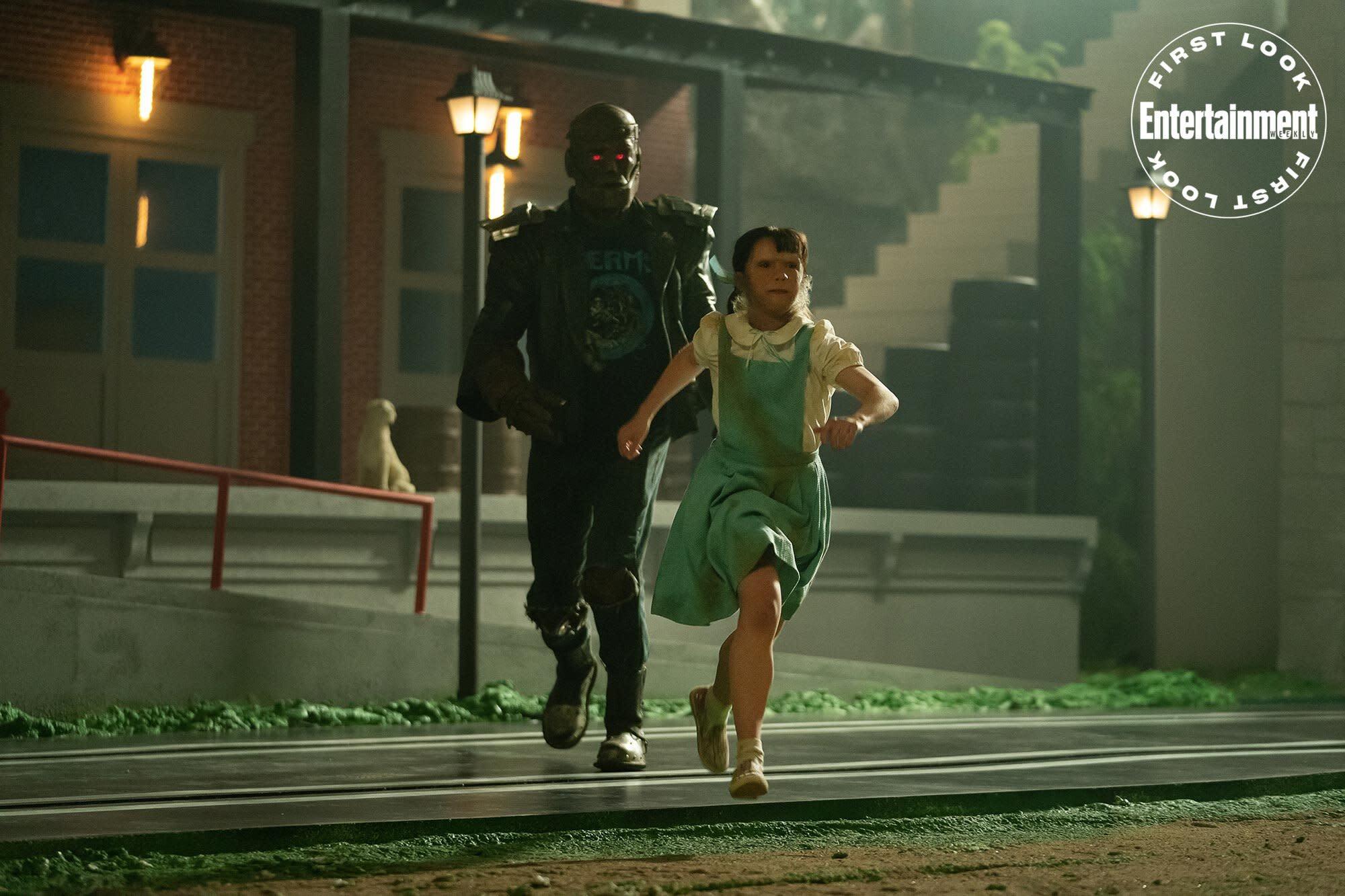 Dorothy Spinner Arrives Mark Sheppard Returns In Doom Patrol