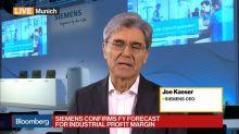 Siemens CEO Kaeser on Earnings, Business Overhaul, Trade