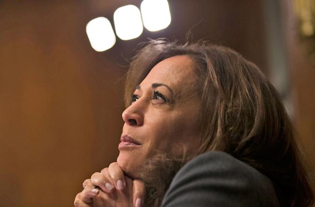 Senator Kamala Harris wants $15 million for state and local tech projects