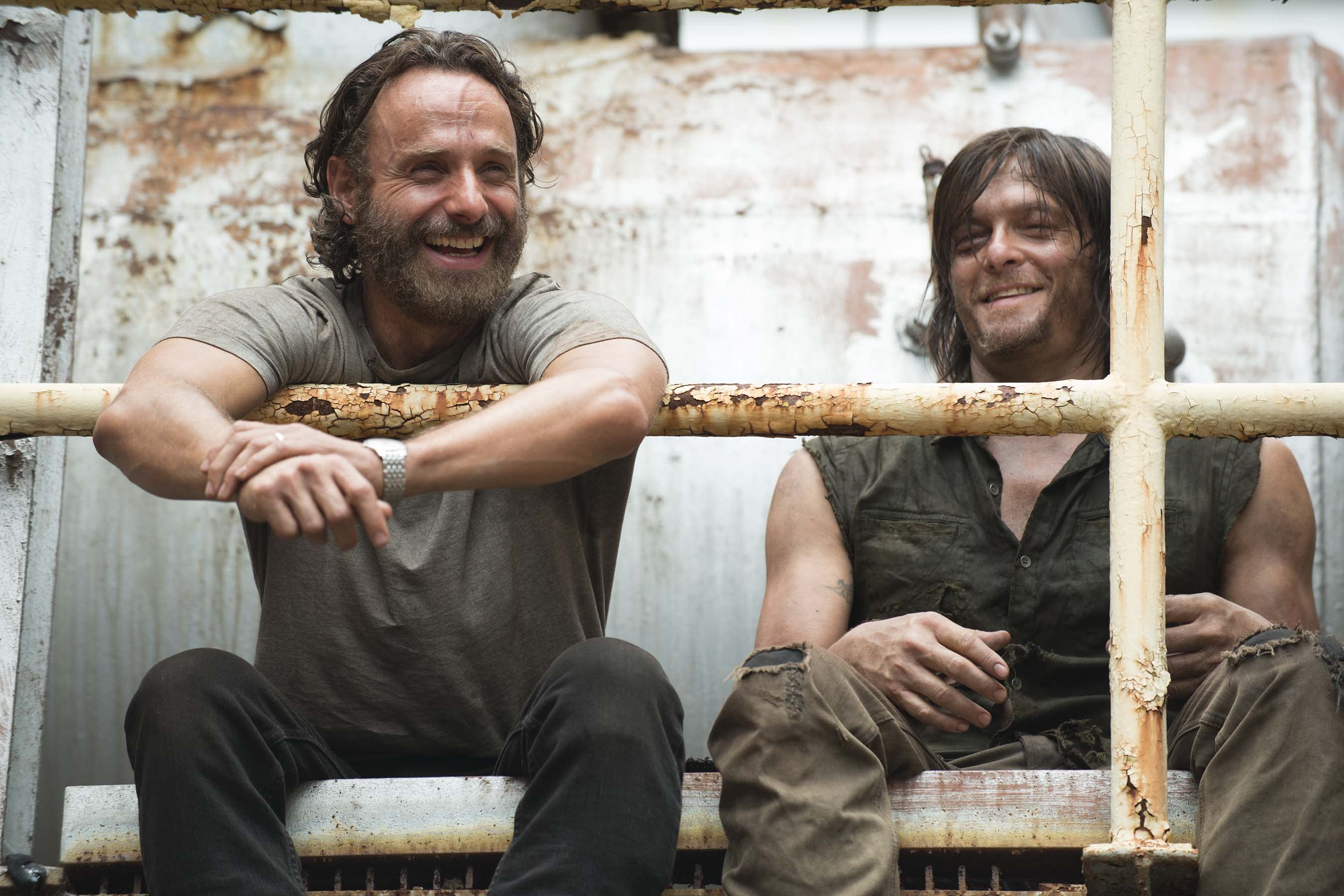 Norman Reedus And Andrew Lincoln Had Pact To Leave The Walking Dead