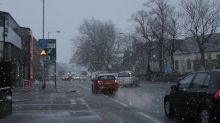 Transport disrupted as heavy snow falls in Manchester