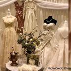 Retirement community celebrates Valentine's Day by displaying residents' vintage wedding gowns