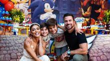 Juliana Paes comemora aniversário do filho caçula com festa temática: 'Amor e diversão'