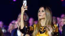 Heidi Klums Kuhfoto sorgt im Netz für Diskussionen