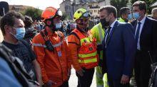 Inondations dans les Alpes-Maritimes : le président Macron sur place auprès des sinistrés
