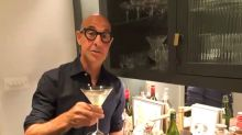 Stanley Tucci goes from cocktails to culinary as he shares his gnocchi recipe