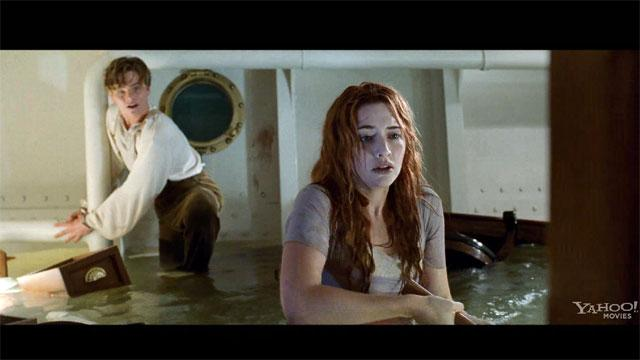 titanic clip rose and the axe video