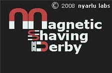 Race to shave your face with Magnetic Shaving Derby