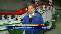 Preps underway for Milwaukee's holiday parade