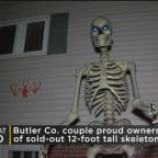 Butler Co. Couple Proud Owners Of Viral 12-Foot Skeleton