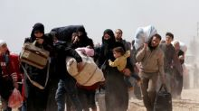 Russia says more than 7,000 people left Syria's Eastern Ghouta Saturday morning: TASS