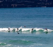 Coronavirus: Anger as surfers ignore social distancing measures at popular Newquay beach