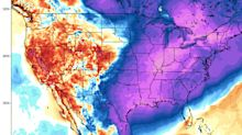 The US is being hit by a frigid, early cold snap that has killed at least 6 people and could break 100 temperature records