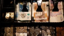 Sterling shrugs off weak GDP data, cements gains before election