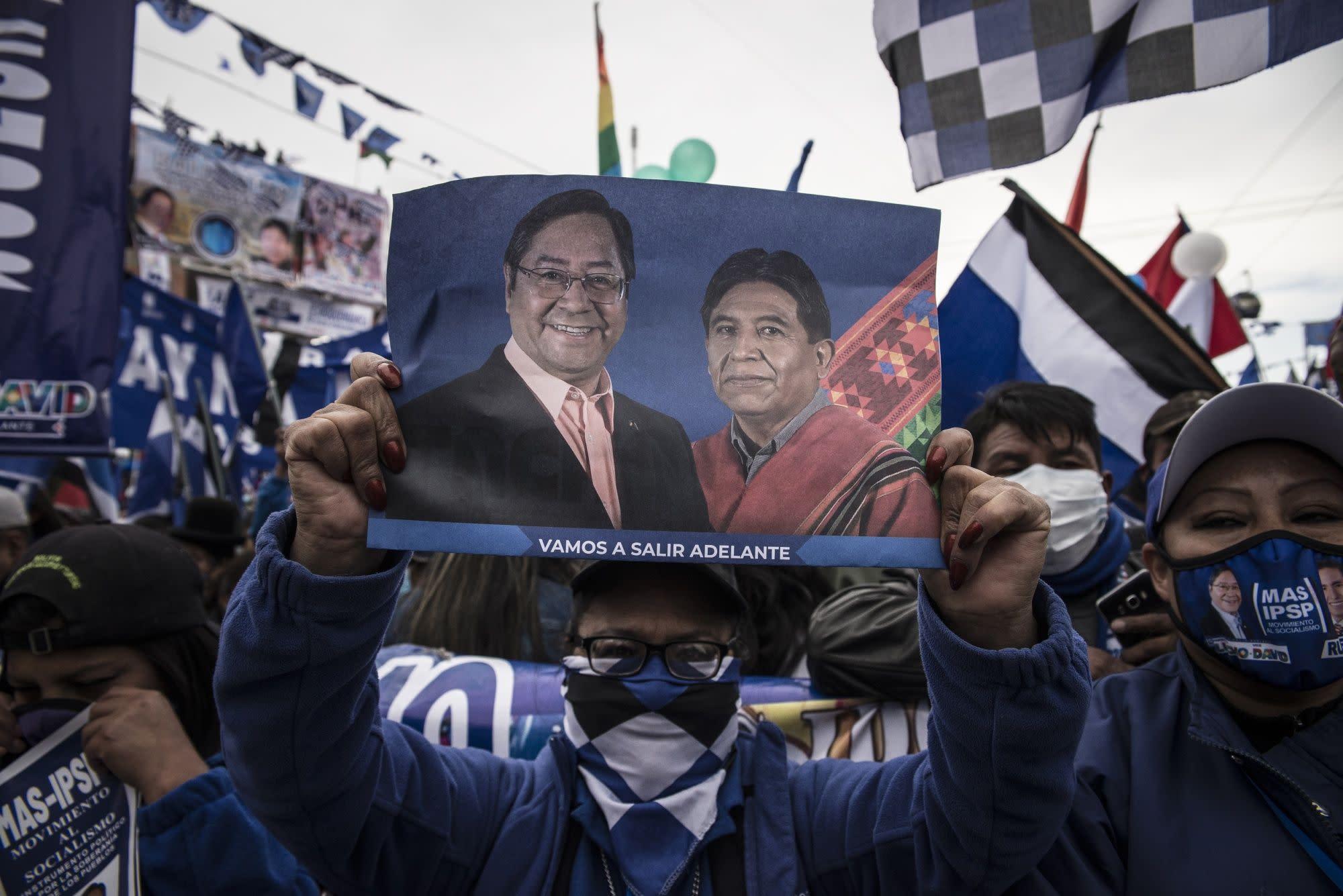 Socialistas buscan retomar Bolivia a un año de salida de Morales
