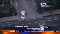 Reports: At Least 1 LAPD Officer Shot in Mid-City