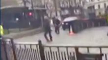 Team GB boxer captures moment Westminster attacker is shot by officer