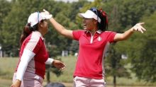 U.S. sweep the four-balls for Solheim lead