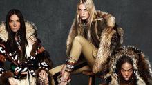Joan Smalls, Caroline Trentini & Fei Fei Sun Are Chic Eskimos for DSquared2