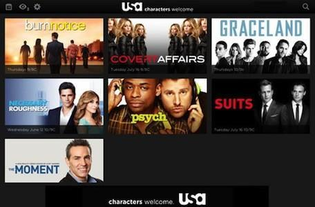 USA network brings streaming shows to iPad, iPhone